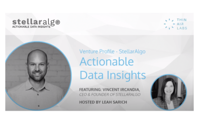 VIDEO: Venture profile featuring StellarAlgo founder and CEO, Vincent Ircandia