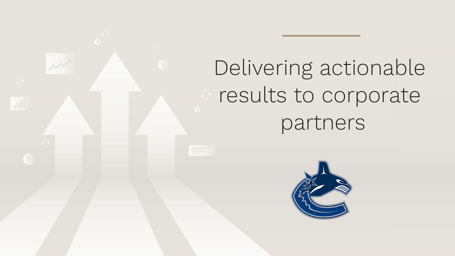How the Vancouver Canucks used the StellarAlgo CDP to identify and engage fans for a premier sponsor